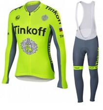 Ropa ciclismo entretiempo: Tinkoff tour 2016 maillot cycling otoño pants jersey