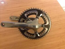 Shimano Crankset with FSA ring.