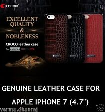 """* ORIGINAL COMMA * Genuine Leather Back Cover Case for Apple iPhone 7 (4.7"""")"""