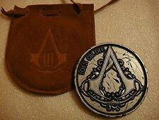 Assassins Creed III 3 Join Or Die Medallion Coin from Limited Freedom Edition w