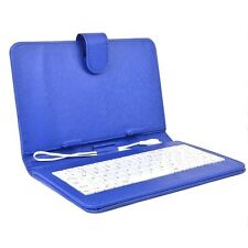 Infinity Key Combo 8 inch Micro USB Case & Keyboard - Fits 8 inch Tablets (Blue)