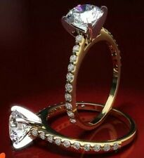 1.00ct Real Solitaire IJ - SI1 Dimaond Gold Ring Women (Wedding Engagement Annv)