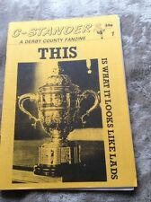 DERBY COUNTY FANZINE C-STANDER ISSUE 1 1990