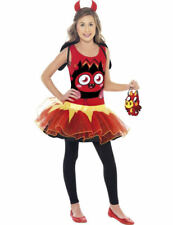 Child Licensed Diavlo Moshi Monsters Girls Outfit Fancy Dress Costume
