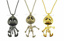 Alien Skeleton Quirky Jack Skellington Halloween Costume Jewellery Necklace