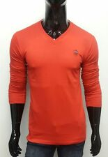RED LP Full Sleeves V-Neck T-shirts for Men's - LIMITED STOCK