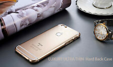LUXURY ULTRA THIN  Hard Back Case Cover for Apple iPhone 6S,6,5S,5,4S,4 (Gold )