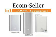 100% ORIGINAL Xiaomi 10000mAh/10400mAh/16000mAh Power Bank (Silver) By Ecom