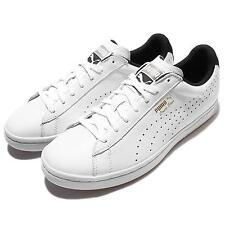 Puma Court Star CRFTD Crafted White Black Mens Training Shoes Trainers 359977-09