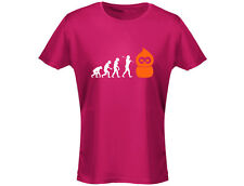 Zingy Evolution EDF Energy Funny Womens T-Shirt (12 Colours)