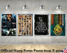 Harry Potter Style Movie Poster Print Vintage Retro Wall Art Collection A4 A3