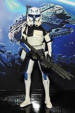 STAR WARS ACTION FIGURE CAPTAIN REX PHASE II  ARMOUR  CLONE TROOPER HASBRO 2011
