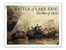The War of 1812 Battle of Lake Erie Sheet of 20 x Forever U.S. Postage Stamps b