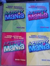 Activity Mania, Games, Activities, Puzzles, & Much More (Assorted, Designs Vary