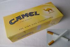 Make your own Camel King size cigarette papers filter tubes like rizla