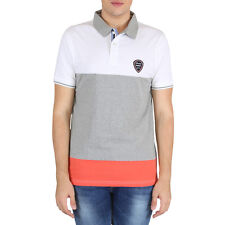 EASIES Multicolor Striped Slim Fit Mens T-Shirts-ETS-508 SACHET HSPLNKCR GRYWHTE