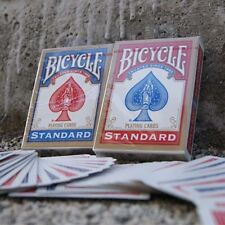 MAZZO di carte BICYCLE Standard POKER + VIDEO Giochi di prestigio Trucchi Magia
