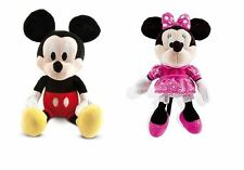 New Disney Minnie / Mickey Mouse Clubhouse Happy Sounds Soft Plush Toy Age 3+
