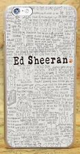 Ed Sheeran Style Hard Plastic Case Cover Coque Shell Fundas For All Phone Models