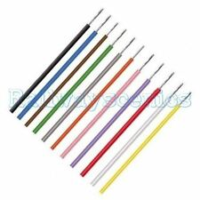 DCC Bus Layout Equipment Wire 1/0.6, 7/0.2, 16/0.2, 24/0.2, 32/0.2 all colours