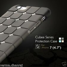 "MAGIC CUBE SERIES Protective Soft TPU Back Cover Case For Apple iPhone 7 (4.7"")"