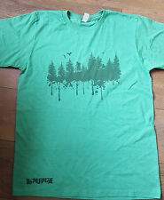 Forest Print Organic / recycled / sustainable Mountain Bike t-shirt