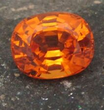 2.65 cts - Top Color Mandarin Garnet With Video!