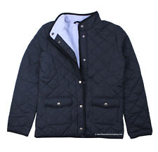 NEW CAPTAIN CORSAIRE Ladies navy blue diamond quilted jacket with fleece lining