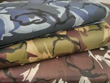 "Camo Cotton Drill  Army Military Camouflage Fabric 59""/150cm wide Material"