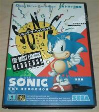Mega Drive (JAP) - SONIC THE HEDGEHOG - COMPLETO Sega Megadrive Japan