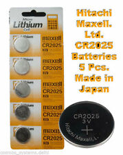 CR2025 Battery 5 pieces 3V Micro Lithium Coin