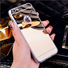 """* NEW MIRROR TPU ULTRA - THIN * Back Cover Case for Apple iPhone 7 (4.7"""")"""