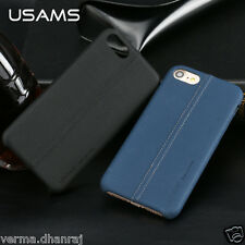 * USAMS JOE SERIES * Leather Litchi Texture Back Cover Case For Apple iPhone 7