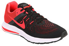 Nike Brand Mens Original Zoom Windflo 2  Black Red Sports Shoes