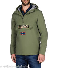 Napapijri Rainforest Winter Verde Militare Originale Giubbetto da Negozion Uomo