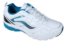 COLUMBUS BRAND MENS BOLLYWOOD WHITE GREEN CASUAL LACE SPORTS SHOES