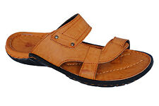 Sicliy Brand Mens Tan Casual Slipper / Sandal 13036