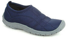 Liberty Gliders Ladies Navy Blue Casual Ballerina - Mac