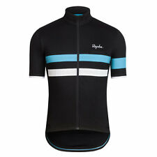 Rapha Team Sky Brevet Jersey Short Sleeve Black Size Large BNWT
