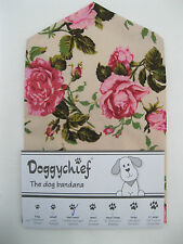 Roses Dog Bandana by Doggychief -  More designs available - All sizes