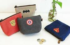NEW SUPER HERO COIN PURSE WALLET PARTY BAG FILLER FREE DELIVERY