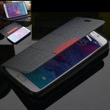 Luxury Flip Stand Wallet Leather Card Cover Case For Samsung Galaxy Note 5