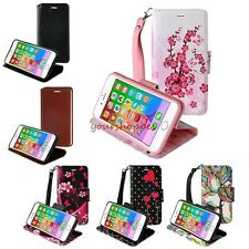 PU Leather Flip Card Holder Wallet Stand Case Cover For Apple iPhone 6s Plu