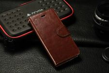 For New iPhone 7 Plus [Wallet Phone Case ] Flip Cover Leather Card Wallet C