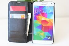 New Luxury Leather Wallet Case Cover Flip Pouch for Samsung Galaxy S5