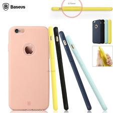 Ultra Thin Rubber Bumper TPU Soft Case Cover Skin For Apple iPhone 6 6s Plu