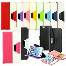 Luxury Magnetic Leather Card Wallet Flip Case Cover for Apple iPhone 6 6S P