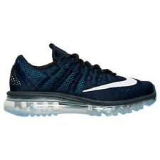 NIKE Men's Air Max 2016 Running Shoes Sneakers Dark Blue Obsidian Black Whi