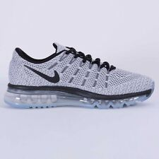 Nike Air Max 2016 Men's Running Shoes 806771-101 White/Black size 7-13