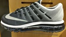 Men's Nike Air Max 2016 Equinox Running Shoes - Black/Black/White
